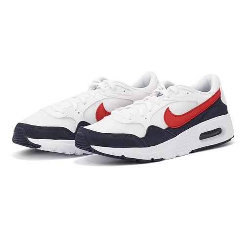 Nike Air Max Sc (Gs) - Αθλητικά - WHITE/UNIVERSITY RED
