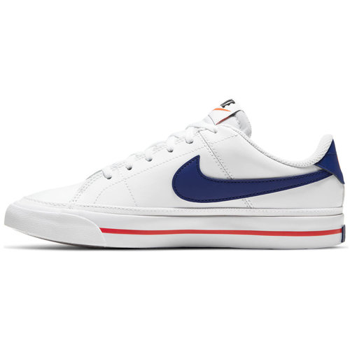 Nike Court Legacy (Gs) - Αθλητικά - WHITE/DEEP ROYAL BLUE