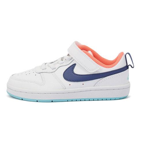 Nike Court Borough Lo2 (Psv) - Αθλητικά - WHITE/DK PURPLE DUST