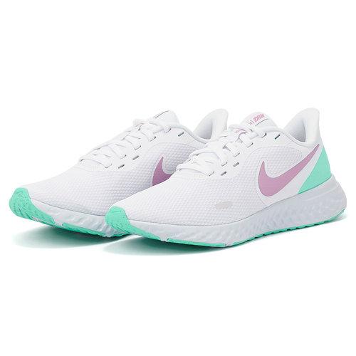 Nike Revolution 5 - Αθλητικά - WHITE/VIOLET SHOCK