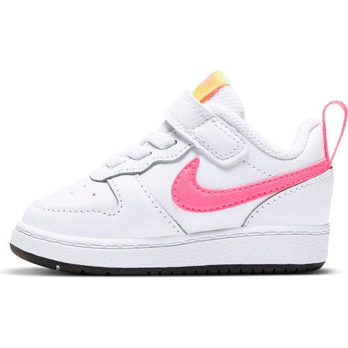 Nike Court Borough Low 2 - Αθλητικά - WHITE/SUNSET PULSE
