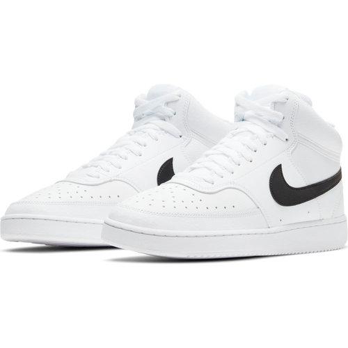 Nike Court Vision Mid - Αθλητικά - ΛΕΥΚΟ