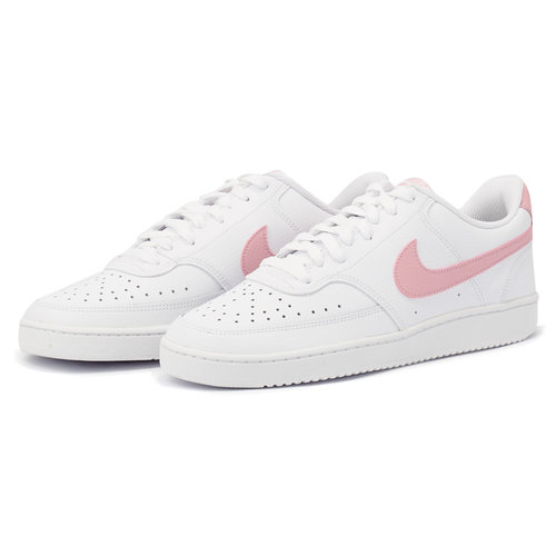 Nike Court Vision Low - Sneakers - WHITE/PINK GLAZE