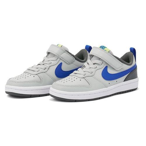 Nike Court Borough Lo2 (Psv) - Αθλητικά - GREY FOG/GAME ROYAL