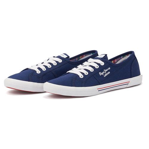 Pepe Jeans Aberlady Ecobass - Sneakers - MARINE
