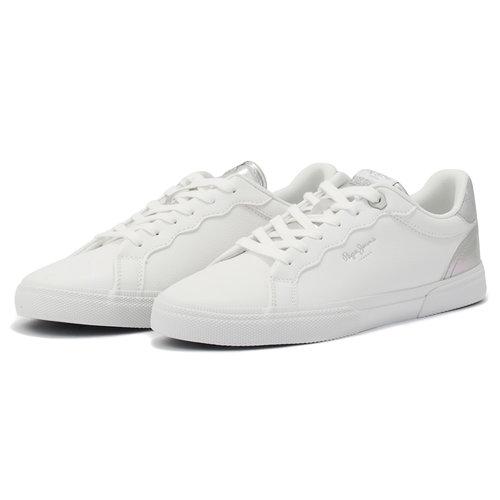 Pepe Jeans Kenton Supra - Sneakers - WHITE