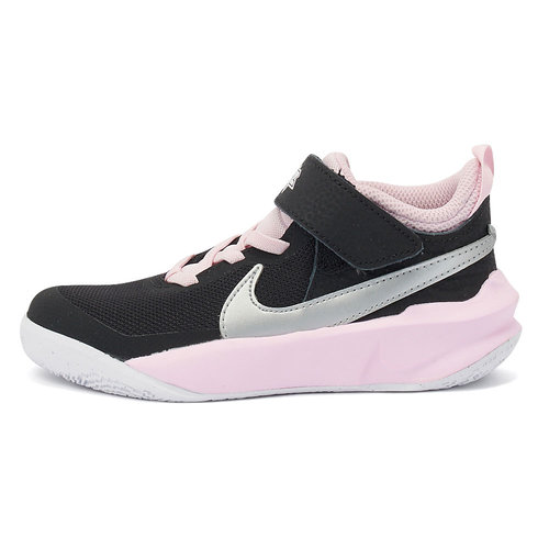 Nike Team Hustle D 10 (Ps) - Αθλητικά - BLACK/METALLIC SILVER