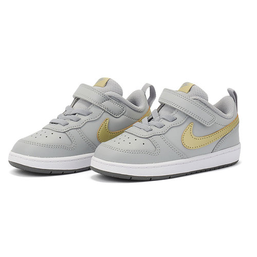 Nike Court Borough Lo2 (Tdv) - Αθλητικά - LT SMOKE GREY/MTLC GOLD STAR