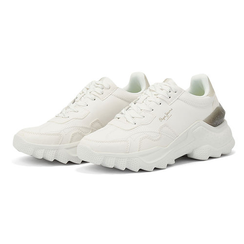 Pepe Jeans Eccles Fenix - Sneakers - OFF WHITE