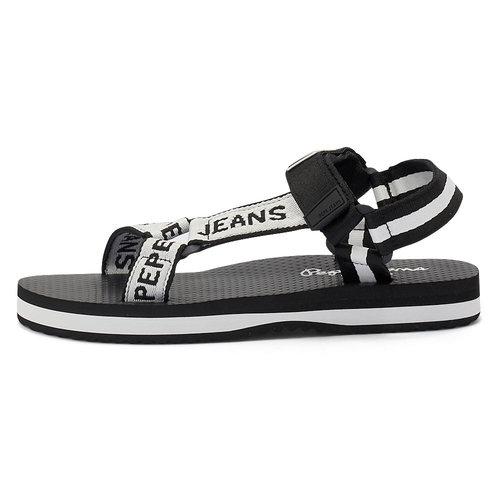 Pepe Jeans Pool W Logo - Σανδάλια - BLACK