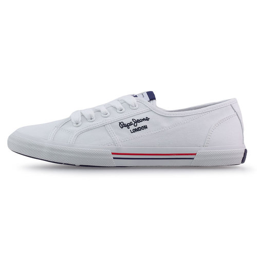 Pepe Jeans Aberlady Ecobass - Sneakers - WHITE