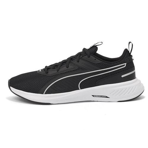 Puma Scorch Runner - Αθλητικά - BLACK-WHITE
