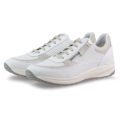 Geox D Airell A - Sneakers - WHITE