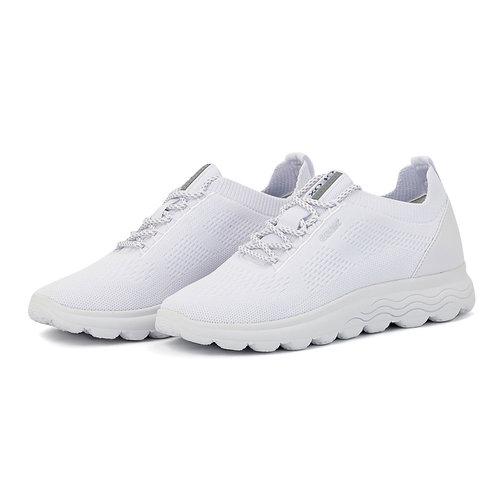 Geox D Spherica - Sneakers - WHITE