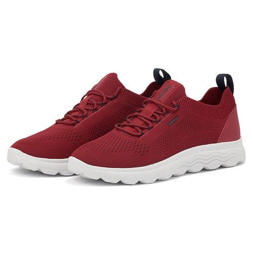 Geox U Spherica - Sneakers - RED