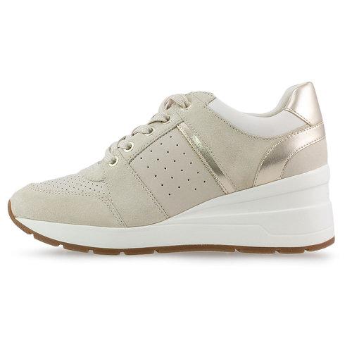 Geox D Zosma A - Sneakers - BEIGE