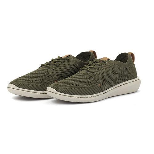 Clarks Step Urban Mix Khaki - Sneakers - KHAKI