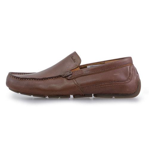 Clarks Markman Plain Dark Tan - Brogues & Loafers - DARK TAN