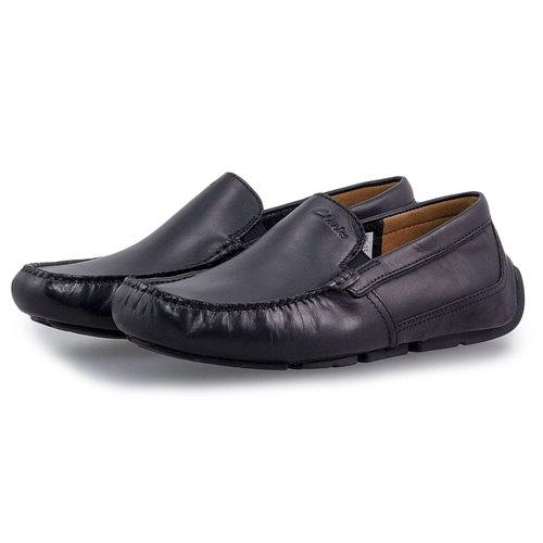 Clarks Markman Plain Black - Brogues & Loafers - BLACK