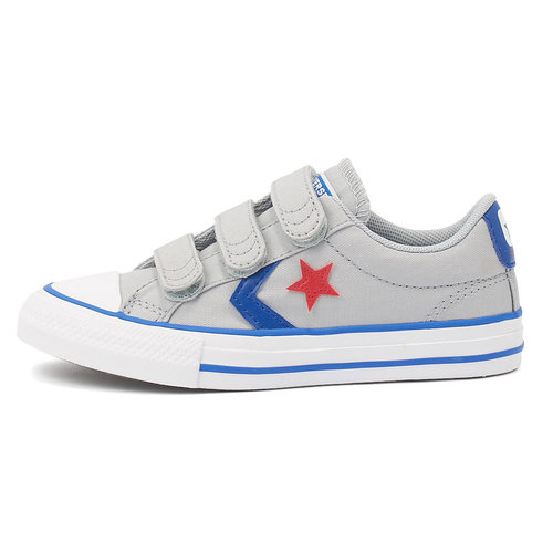 Converse Star Player 3V - Sneakers - WOLF GREY/BLUE