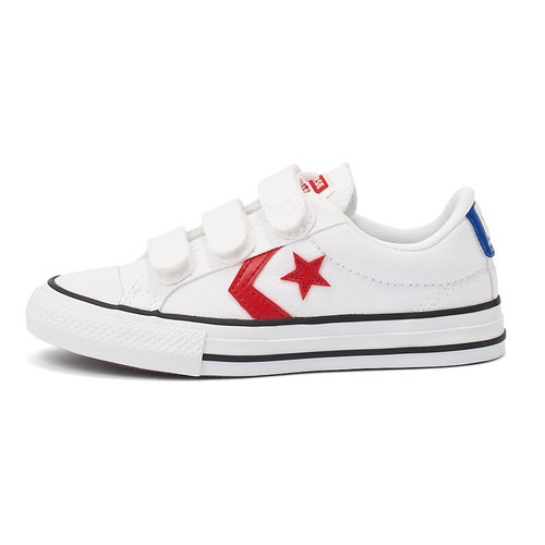 Converse Star Player 3V - Sneakers - WHITE/UNIVERSITY RED