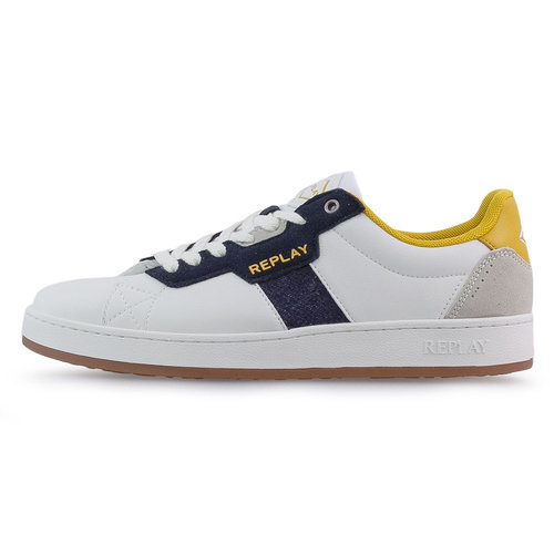Replay - Sneakers - WHITE/NAVY