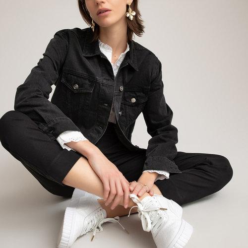 Slim παντελόνι - Παντελόνια - ΜΑΥΡΟ