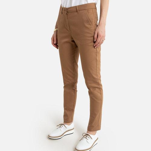 Ίσιο παντελόνι από στρετς σερζ - ΓΥΝΑΙΚΑ - ΚΑΜΗΛΟ