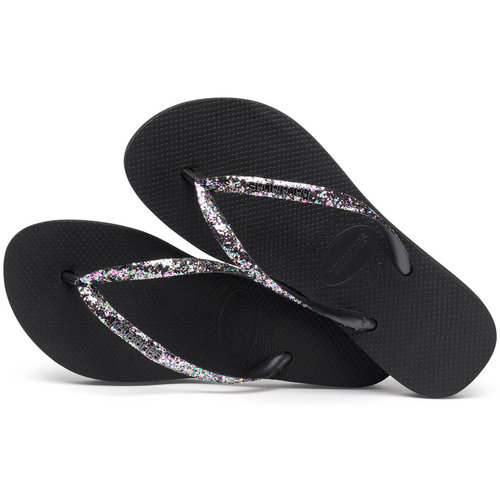 Havaianas Slim Glitter - Σαγιονάρες - BLACK