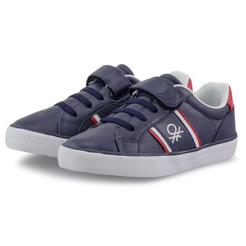 Benetton Crispy Ltx - Sneakers - NAVY/RED