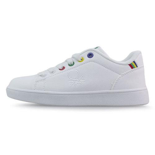 Benetton Penn Multirings - Sneakers - WHITE