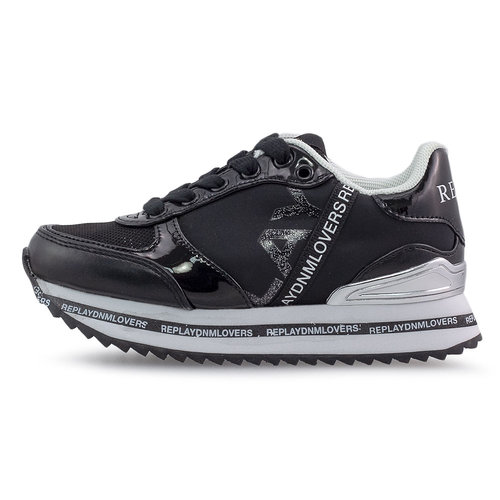 Replay - Sneakers - BLACK/SILVER