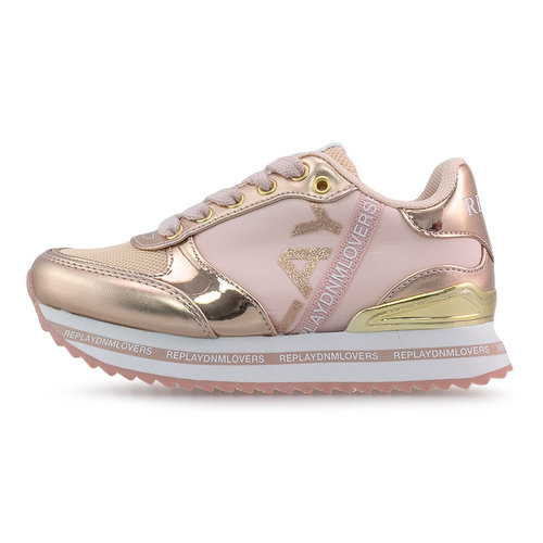 Replay - Sneakers - PINK/GOLD