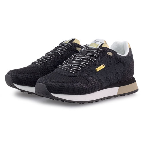 Pepe Jeans Dover Angy - Sneakers - BLACK