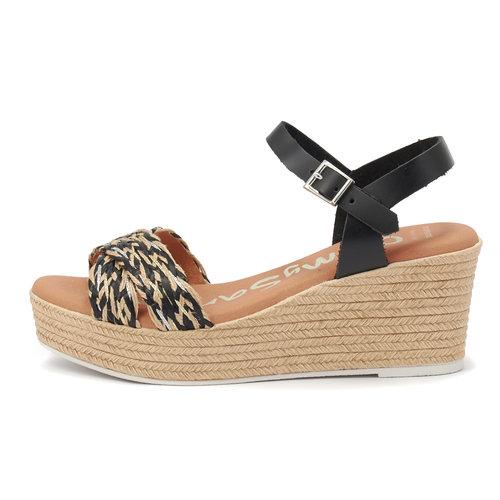 Oh My Sandals - Πέδιλα - NEGRO