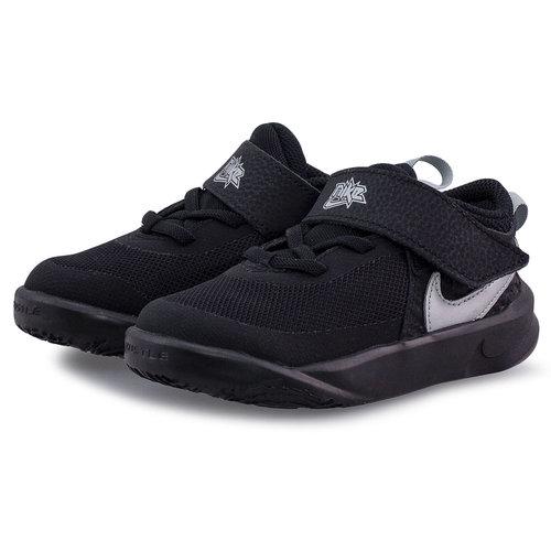 Nike Team Hustle D 10 (Td) - Αθλητικά - BLACK/METALLIC SILVER