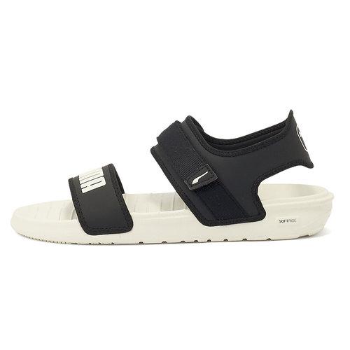 Puma Softride Sandal - Πέδιλα - BLACK-MARSHMALLOW