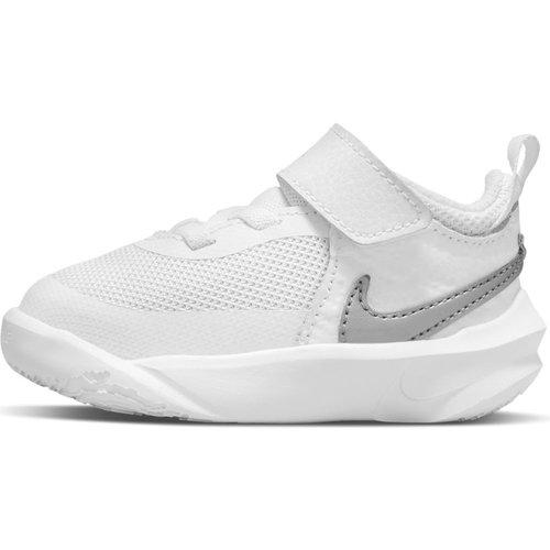 Nike Team Hustle D 10 (Td) - Αθλητικά - WHITE/METALLIC SILVER