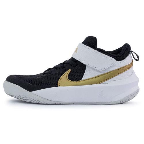 Nike Team Hustle D 10 (Ps) - Αθλητικά - BLACK/METALLIC GOLD