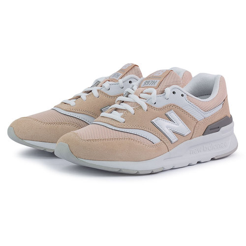 New Balance 997H - Sneakers - PINK/WHITE