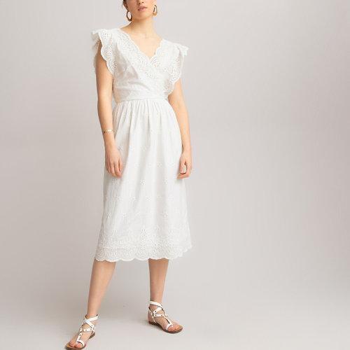 Αμάνικο φόρεμα με V - Φορέματα - ΙΒΟΥΑΡ