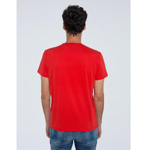 Μπλούζα από βαμβάκι - Μπλούζες & Πουκάμισα - LIGHT RED