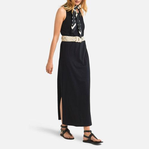 Μάξι αμάνικο φόρεμα - Φορέματα - ΜΑΥΡΟ