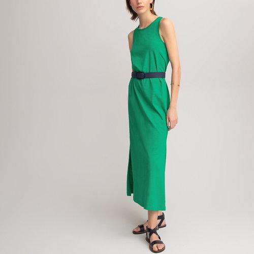 Μάξι αμάνικο φόρεμα - Φορέματα - ΠΡΑΣΙΝΟ
