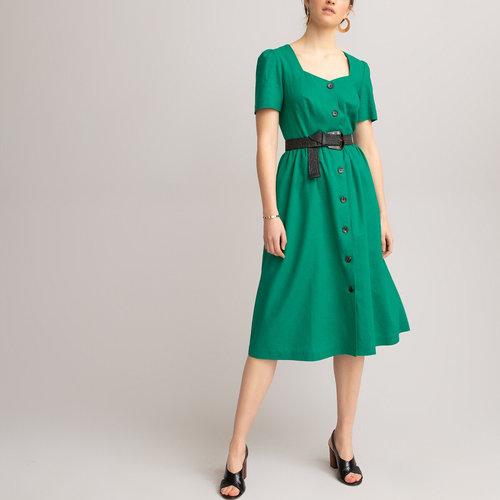 Κοντομάνικο φόρεμα - Φορέματα - ΠΡΑΣΙΝΟ
