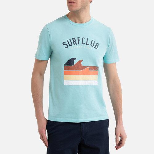 Κοντομάνικο T-shirt - Μπλούζες & Πουκάμισα - ΤΥΡΚΟΥΑΖ ΜΠΛΕ
