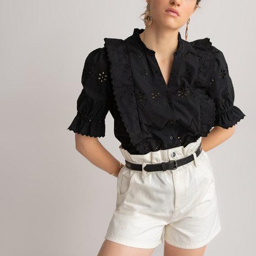 Κοντομάνικο πουκάμισο - Μπλούζες & Πουκάμισα - ΜΑΥΡΟ