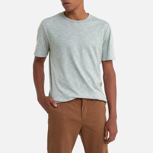 Κοντομάνικη ριγέ μπλούζα - Μπλούζες & Πουκάμισα - GREEN/PRAIRIE GREEN