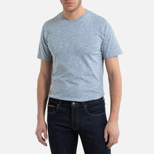 Κοντομάνικη ριγέ μπλούζα - Μπλούζες & Πουκάμισα - BLUE/WHITE STRIPED