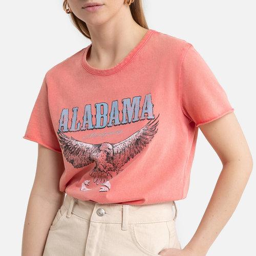 Κοντομάνικο T-shirt - Μπλούζες & Πουκάμισα - ΡΟΖ
